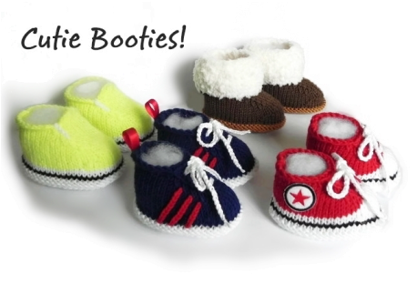 Baby booties, Knitted booties,  Booties, www.starbabyknitwear.com, Baby Converse, Baby Adidas, Baby Uggs, Baby Vans