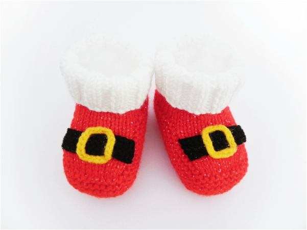 Baby Booties, Mary Jane Booties, Lady bird Booties by StarBaby Knitwear, www.starbabyknitwear.com