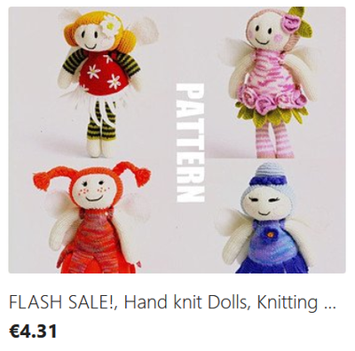 Fairy Dolls knitting pattern download