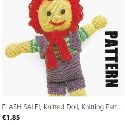 Happy Harry knitting pattern download