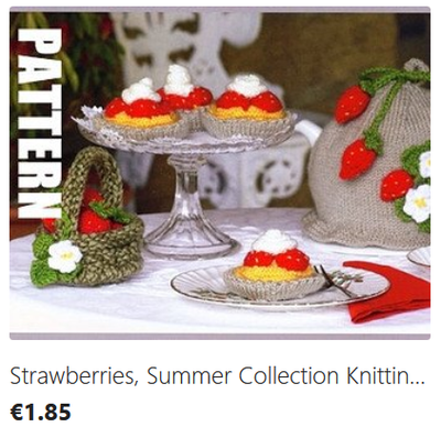 Strawberry Delight knitting pattern download