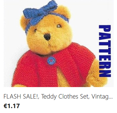 Teddy Clothes knitting pattern download